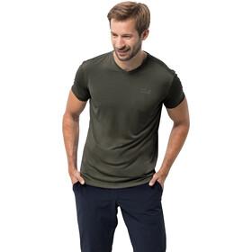 Jack Wolfskin JWP T-Shirt Homme, green pine